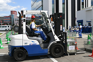 Forklift Olympic Event